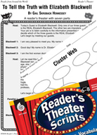 Elizabeth Blackwell Reader's Theater Script and Lesson