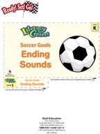 Ending Sounds - Soccer Goals Literacy Center