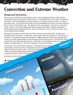 Energy Inquiry Card - Convection and Extreme Weather