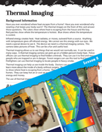 Energy Inquiry Card - Thermal Imaging