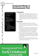 Environmental Print and Building Vocabulary: Compound Words