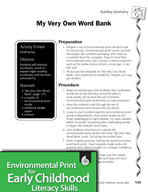 Environmental Print and Building Vocabulary: My Very Own Word Bank