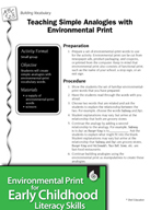 Environmental Print and Building Vocabulary: Teaching Simple Analogies