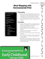 Environmental Print and Building Vocabulary: Word Mapping