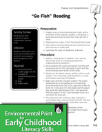 """Environmental Print and Fluency/Comprehension: """"Go Fish"""" Reading"""