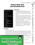 Environmental Print and Fluency/Comprehension: Pattern Book