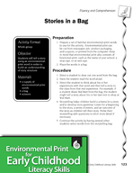 Environmental Print and Fluency/Comprehension: Stories in a Bag