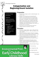 Environmental Print and Phonological Awareness: Beginning-Sound Isolation