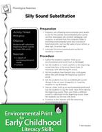 Environmental Print and Phonological Awareness: Silly Soun