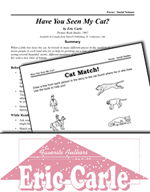 Eric Carle Literature Activities - Have You Seen My Cat?