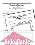 Eric Carle Literature Activities - Pancakes, Pancakes!