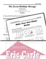 Eric Carle Literature Activities - The Secret Birthday Message