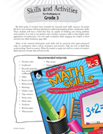 Essential Math Skills - Skills and Activities for Proficiency in Third Grade