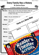 Every Family Has a History Reader's Theater Script and Lesson