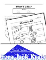 Ezra Jack Keats Literature Activities - Peter's Chair