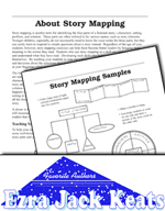 Ezra Jack Keats Literature Activities - Story Mapping