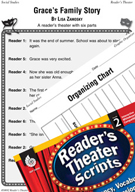 Families-Grace's Family Story Reader's Theater Script and Lesson