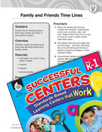 Family and Friends Time Lines Social Studies Center