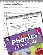 First Grade Foundational Phonics Skills: Irregularly Spelled Words