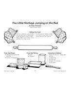 Five Little Monkeys Jumping on the Bed - Monkey Bread Recipe