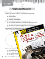 Flora and Ulysses - The Illuminated Adventure Comprehension Assessment (Great Works Series)