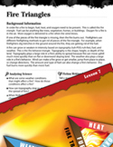 Forces of Nature Inquiry Card - Fire Triangles