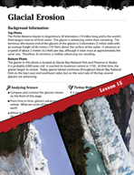 Forces of Nature Inquiry Card - Glacial Erosion