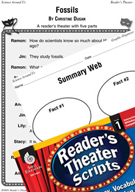 Fossils Reader's Theater Script and Lesson