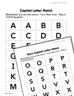 Foundational Skills: Capital Letters Practice