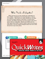 Four Quick Fifth Grade Writing Prompts (Set 2)
