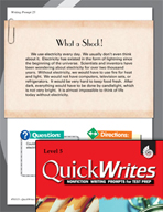 Four Quick Fifth Grade Writing Prompts (Set 7)