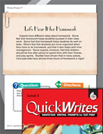 Four Quick Third Grade Writing Prompts (Set 10)