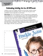 Freckle Juice Post-Reading Activities (Great Works Series)