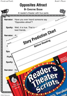 Friendship-Opposites Attract Reader's Theater Script and Lesson
