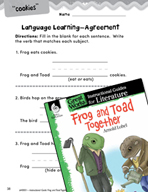 Frog and Toad Together Language Learning Activities (Great