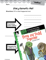 Frog and Toad Together Studying the Story Elements (Great Works Series)