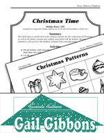 Gail Gibbons Literature Activities - Christmas Time