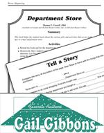 Gail Gibbons Literature Activities - Department Store