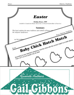 Gail Gibbons Literature Activities - Easter