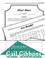 Gail Gibbons Literature Activities - Fire! Fire!