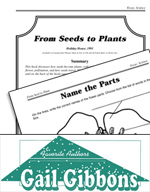 Gail Gibbons Literature Activities - From Seed to Plant