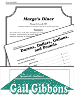 Gail Gibbons Literature Activities - Marge's Diner