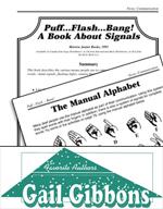 Gail Gibbons Literature Activities - Puff…Flash…Bang! A Bo