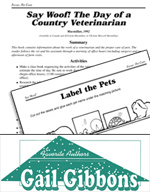 Gail Gibbons Literature Activities - Say Woof! The Day of a Country Veterinarian