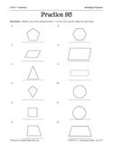 Geometry: Identifying Polygons Practice