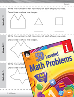 Geometry Leveled Problem: 2-D Shapes - Make It