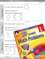 Geometry Leveled Problem: Breaking Apart 2-D Shapes - Tasty Treats