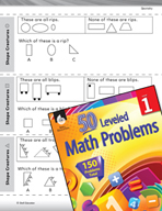 Geometry Leveled Problem: Problem Solving - Shape Creatures