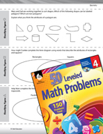 Geometry Leveled Problems: Classifying Figures