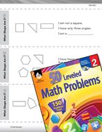 Geometry Leveled Problems: Identifying Shapes